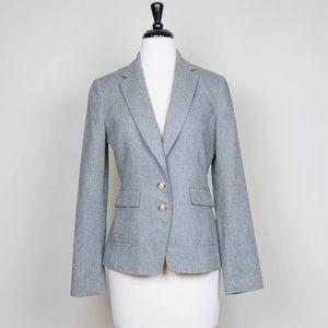 BANANA REPUBLIC Wool Herringbone Blazer